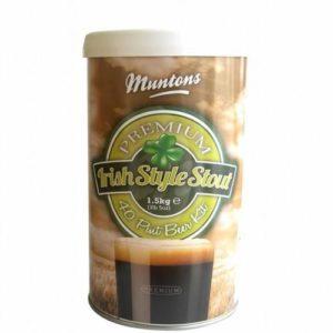 Пивная смесь MUNTONS Irish Stout, 1,5 кг