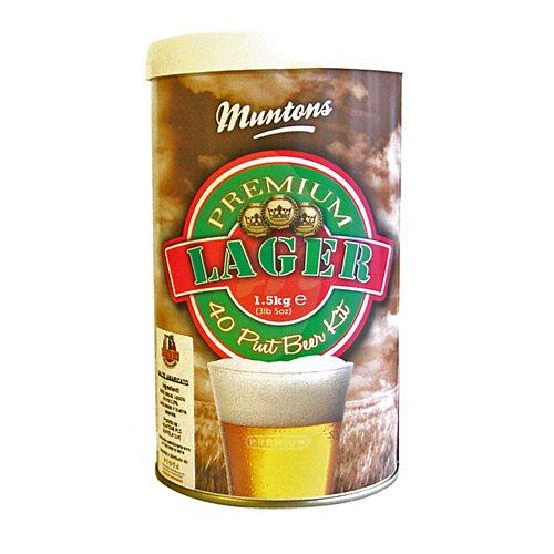 Пивная смесь MUNTONS Lager, 1,5 кг
