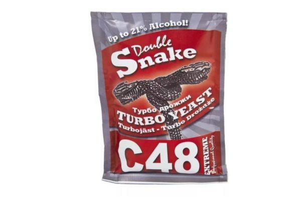 Турбо дрожжи DablleShake C48
